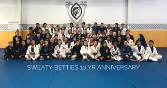 Sweaty Betties celebrate 10 years of Jiu-jitsu and community