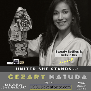 Gezary Matuda Guest Guest Teach at United She Stands!
