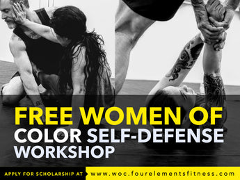 FREE Monthly Women of Color Self-Defense Workshops