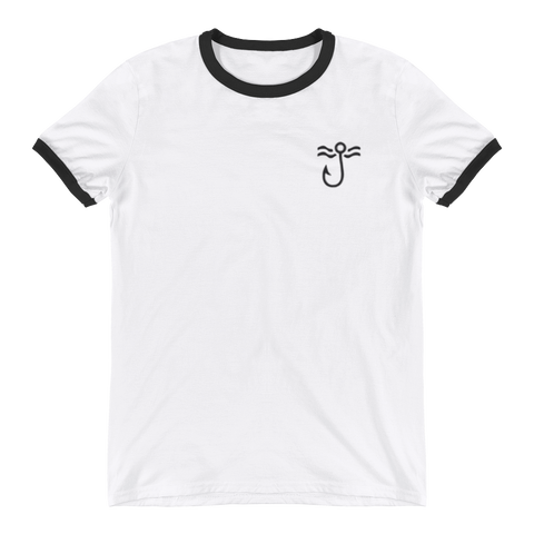 Smiling Ringer T-Shirt