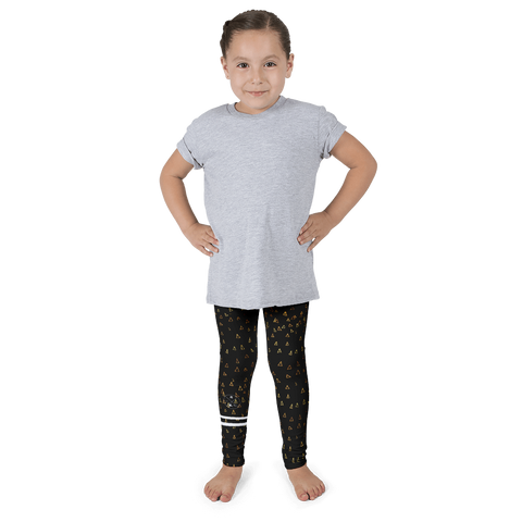Gold Triangles Kid's leggings