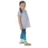 Smiling triangles Kid's leggings