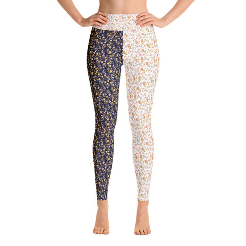 Flower Power Yoga Leggings