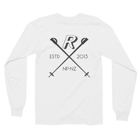 Crossed Ski's Unisex Long Sleeve T-Shirt