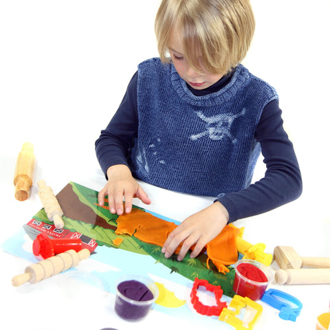 Play dough mat