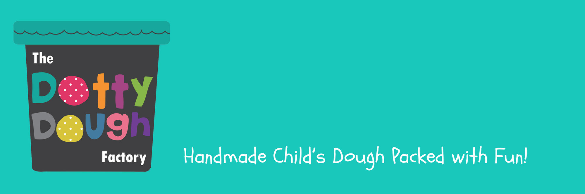 Banner - Handmade Child's Dough From The Dotty Dough Factory