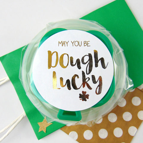 Handmade Child's Dough for St. Patrick's Day