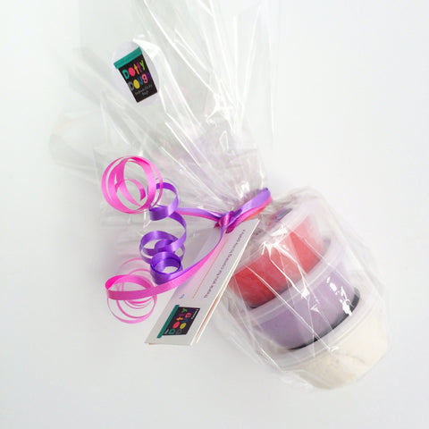 Handmade Child's Dough - Pink Party Favours