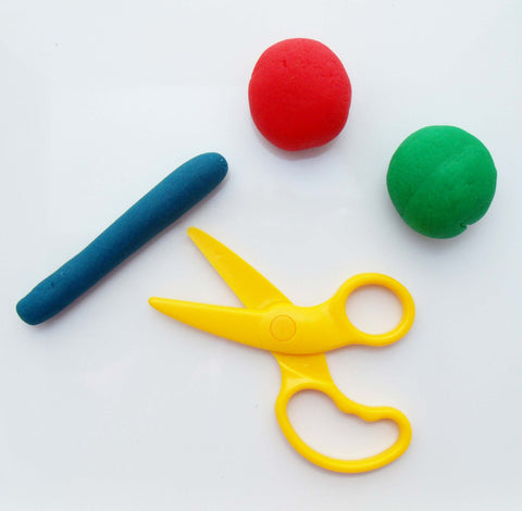Dough Tools - Plastic Dough Safety Scissors