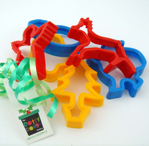 Child's Christmas Dough Cutters