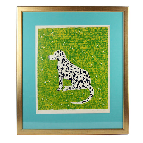'Spotty in the Grass' Dalmatian Print by Penny Melini