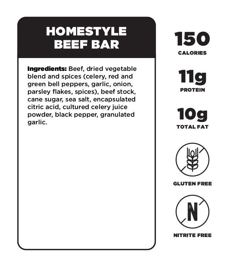 Homestyle Beef Bar