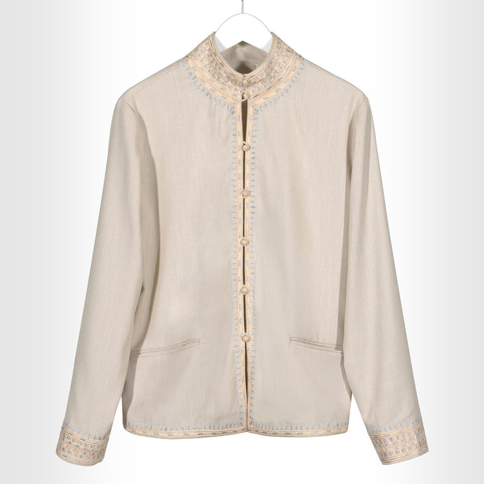 Cream Signature Jacket
