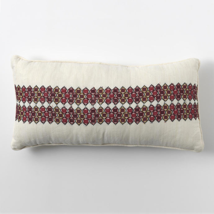 Red Links Cushion