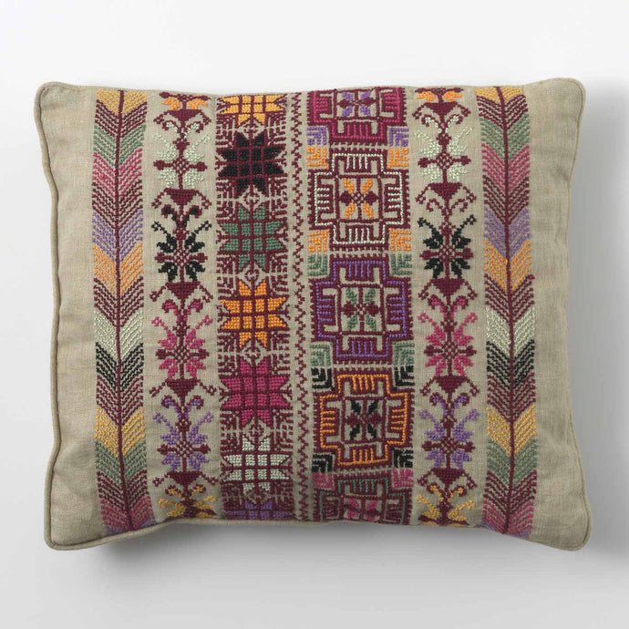 Coloured Print Cushion