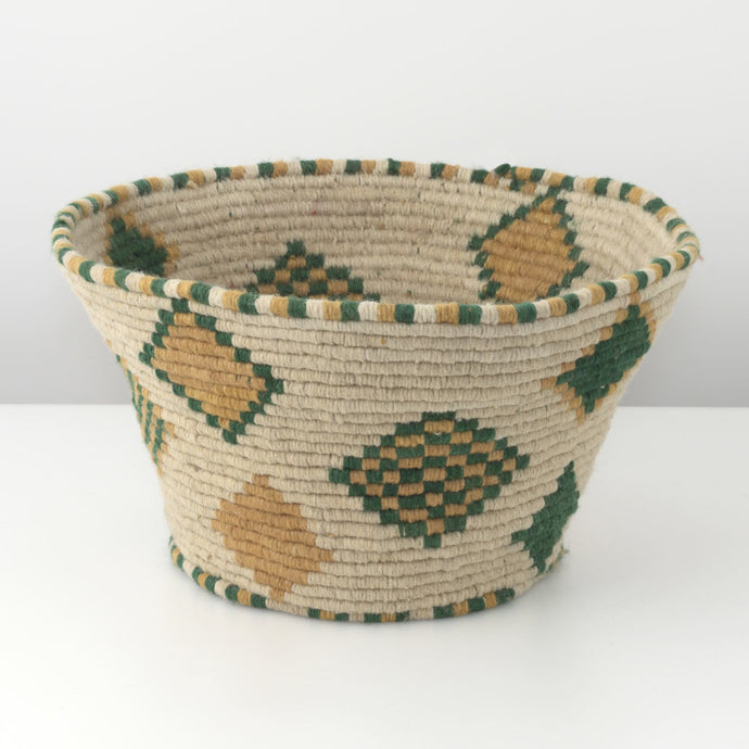 Beige Fabric Basket