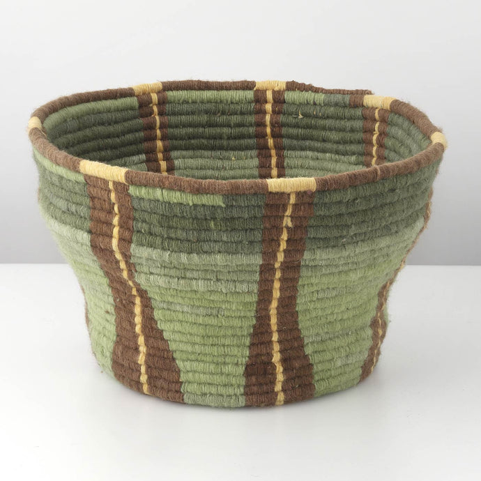 Green Fabric Basket