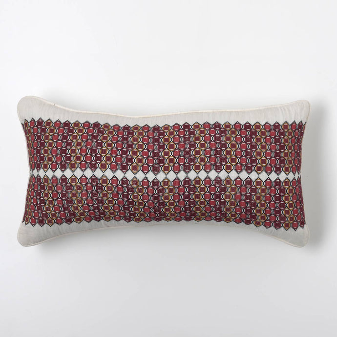 Red Hive Cushion