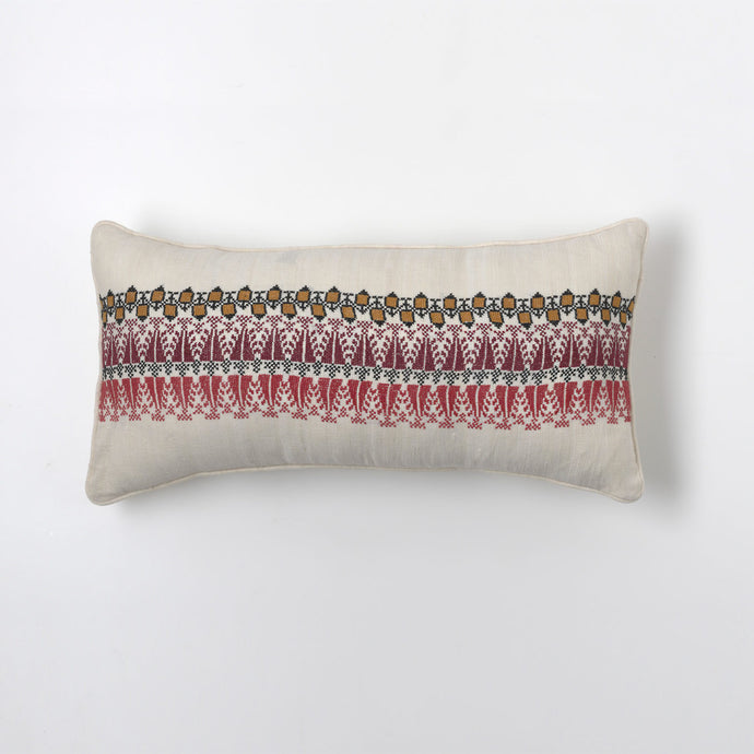 Red Repeating Cushion