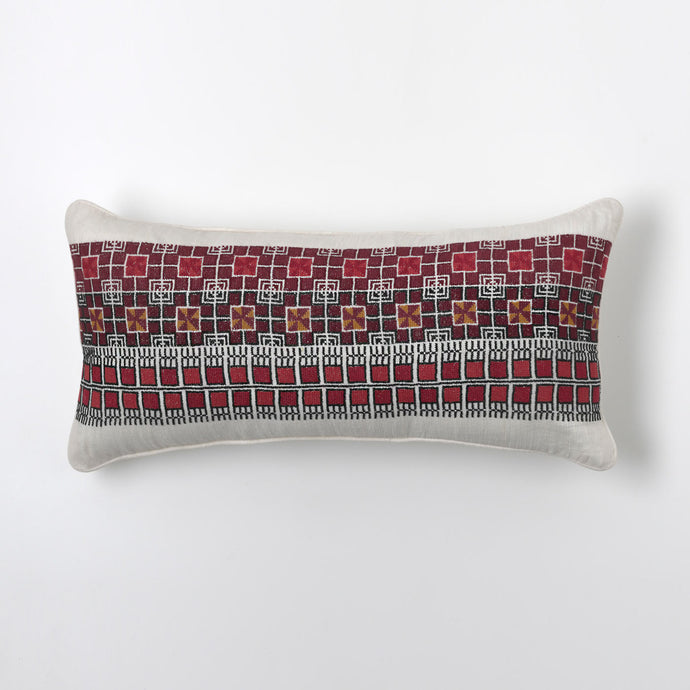 Red Matrix Cushion
