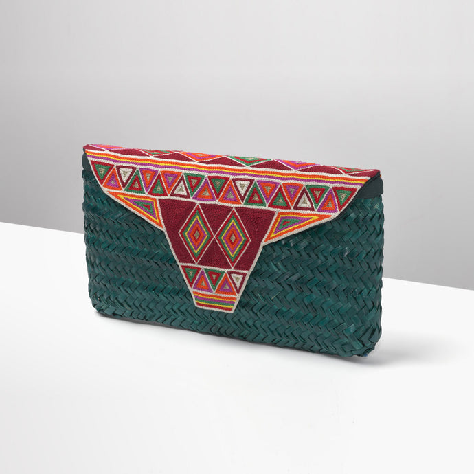 Teal Sleysla Clutch
