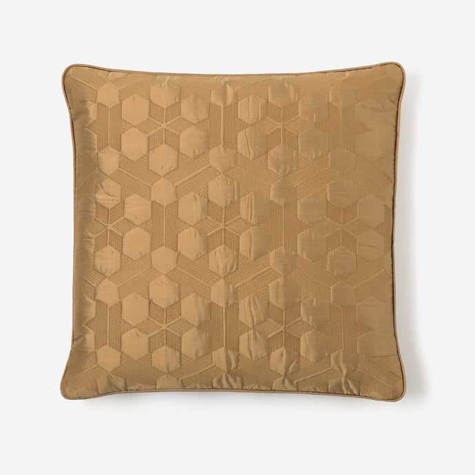 Silk Cushion (Ochre)