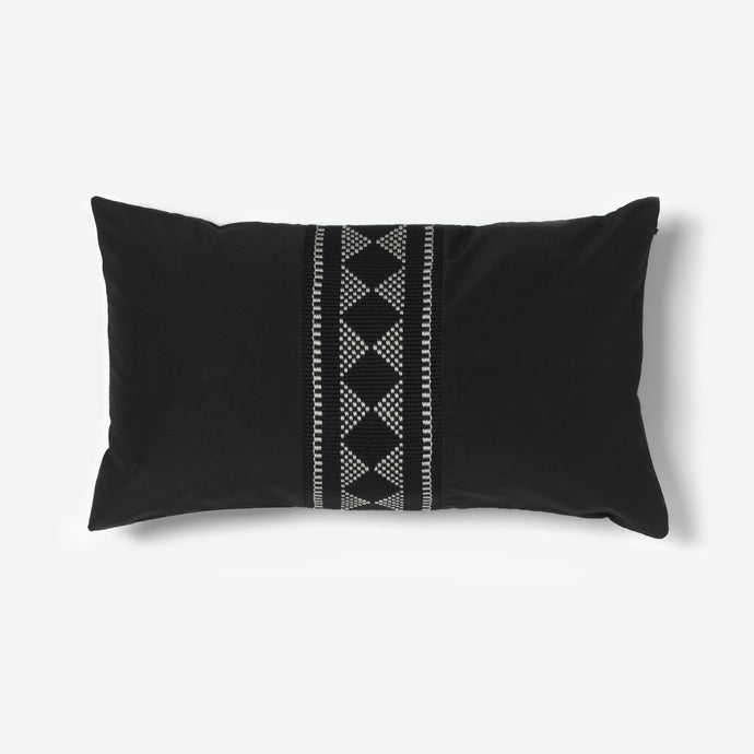 Black and White Diamond Sadu Cushion