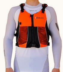 Vaikobi Ocean Racing PFD - Neon Orange Red