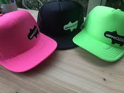 Fluoro Green Hippostick Hat