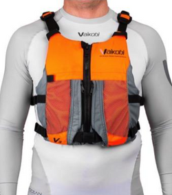 Vaikobi V3 Ocean Racing PFD, Fluro Orange-Grey
