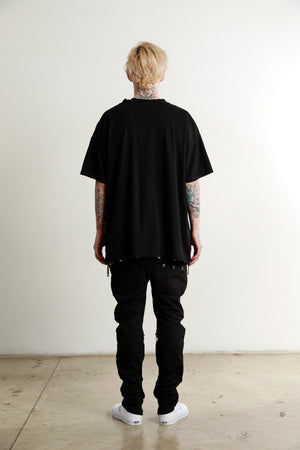 The New Black OVERSIZE Blank Tee