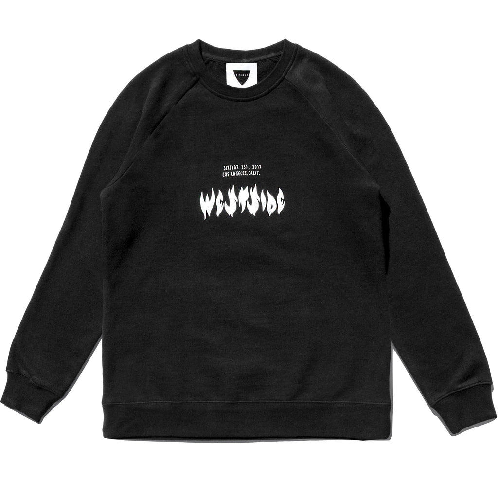WESTSIDE SWEATSHIRT BLACK - SIXELAR