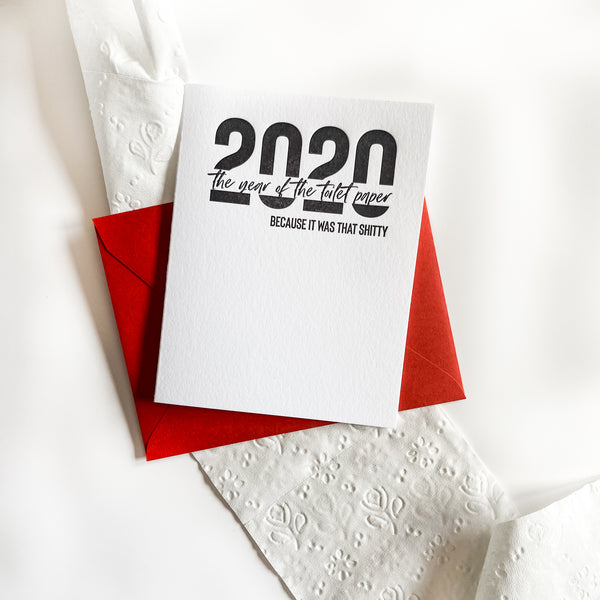 2020 The Year of the Toilet Paper
