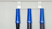 Magnetic Style Door Mount Mop and Broom Holder with Grips Package