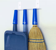 Magnetic Style Wall Mount Mop and Broom Holder with Grips Package