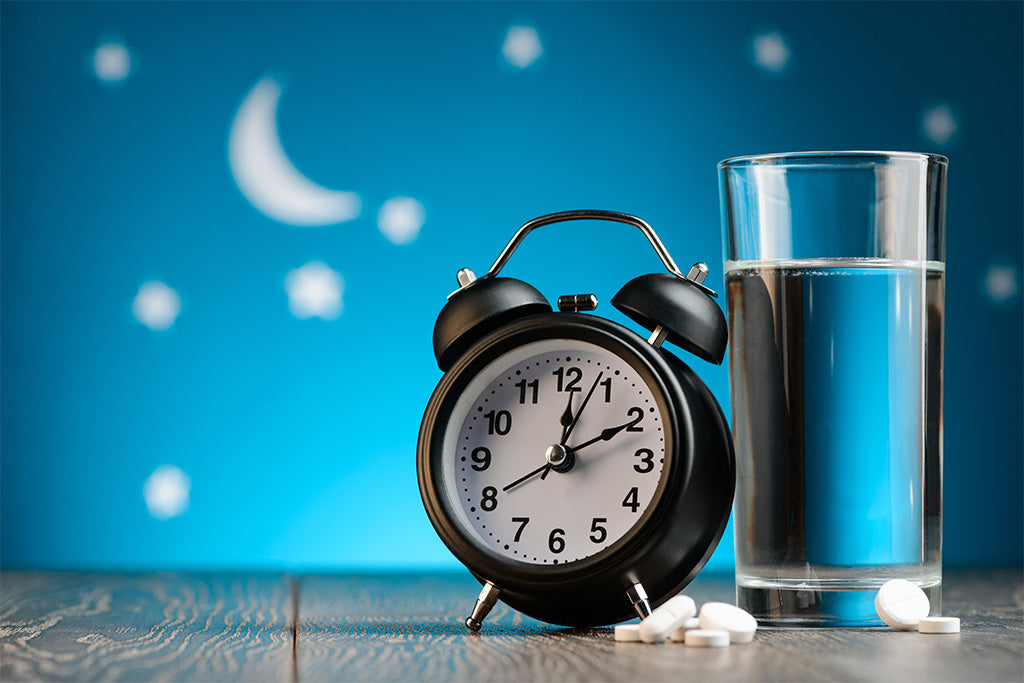 How long does melatonin stay in your system