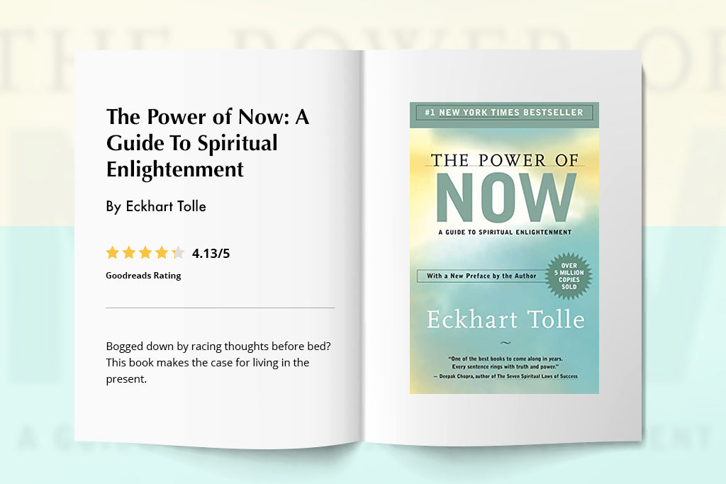The Power of Now: A Guide To Spiritual Enlightenment By Eckhart Tolle | Puffy