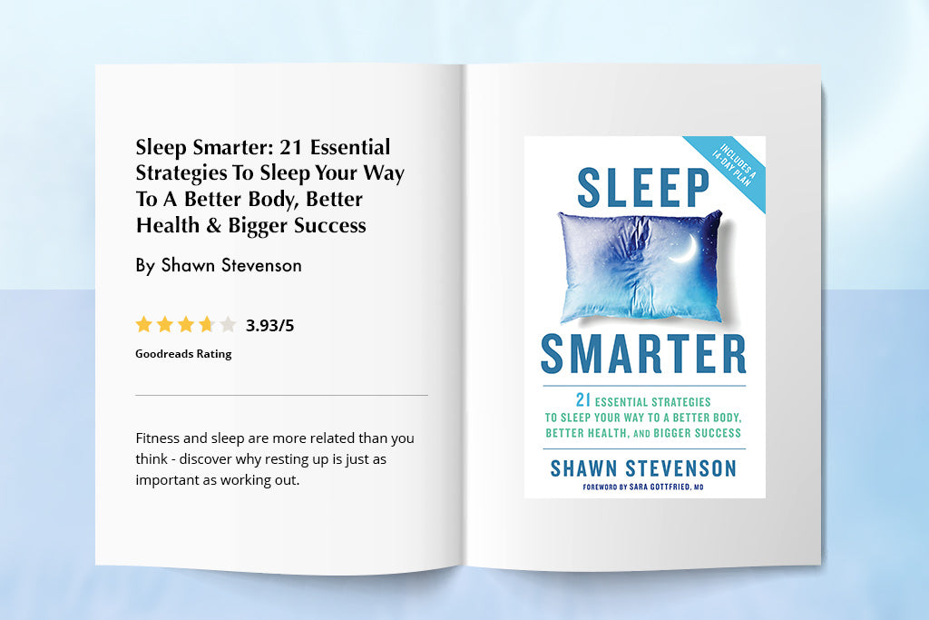 Sleep Smarter: 21 Essential Strategies To Sleep Your Way To A Better Body, Better Health & Bigger Success By Shawn Stevenson | Puffy
