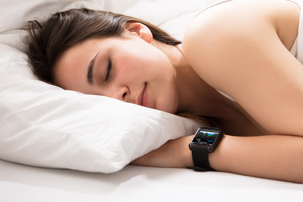 Turn a sleep traker on to monitor how you're doing