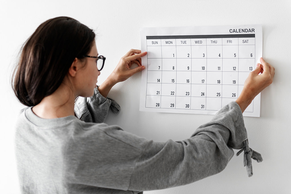 Create A Schedule And Stick To It