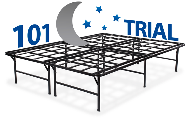 Puffy bedframe risk-free trial