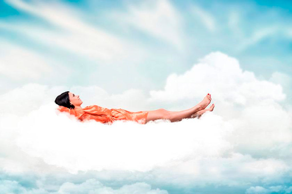 Sleeping on a cloud