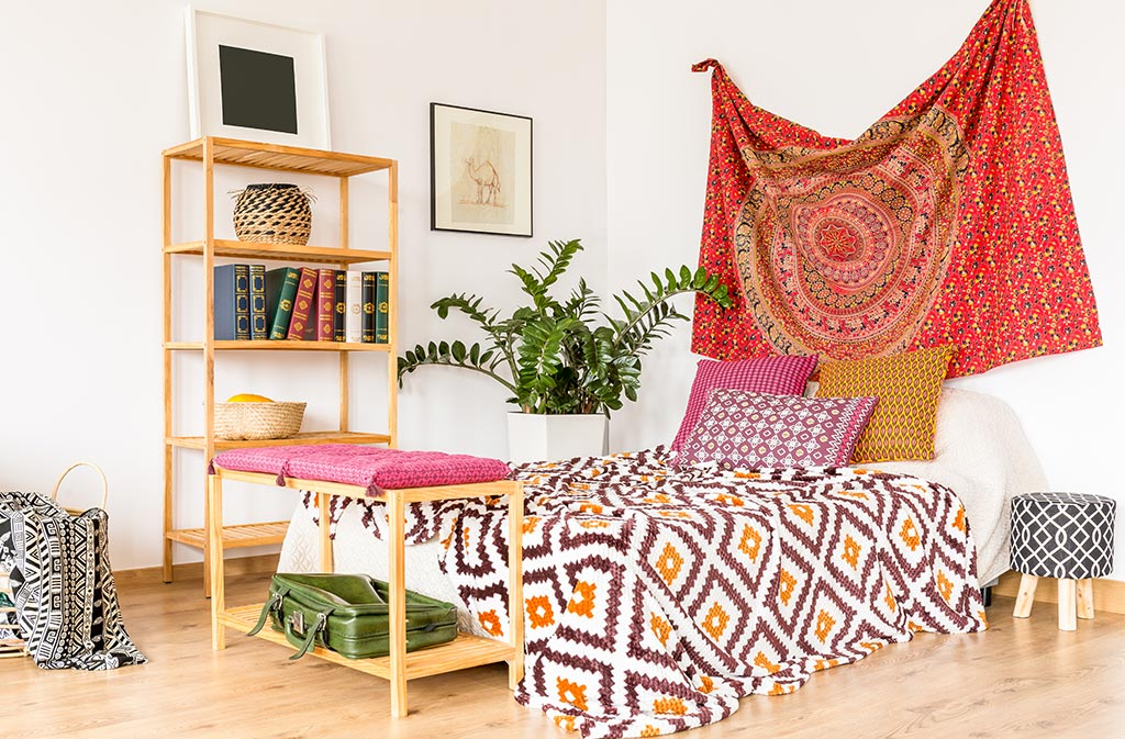 Boho-Chic Bedroom Decor