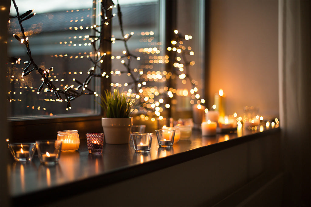 Use Candles For Natural Warm Light