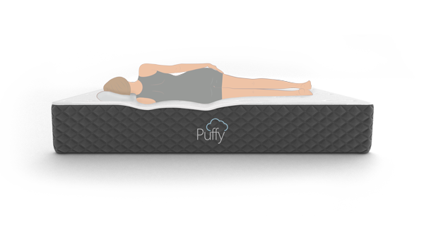Puffy Ranked Best Mattress for Side Sleepers