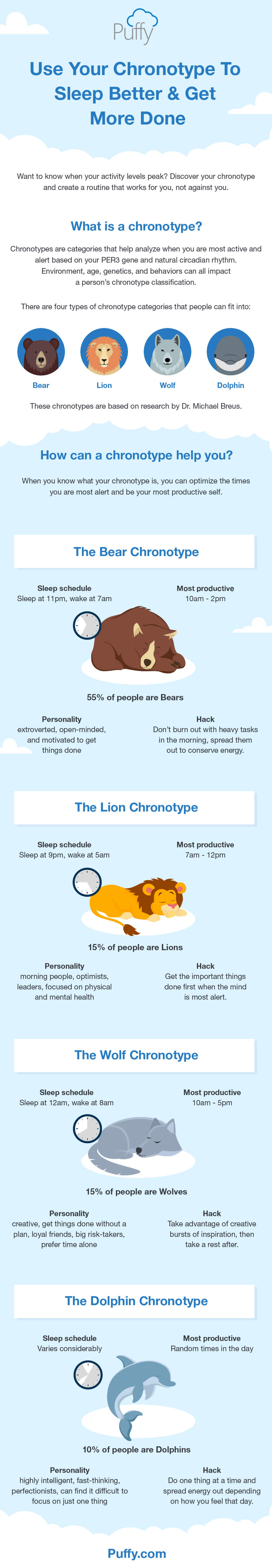 Chronotypes & What They Mean
