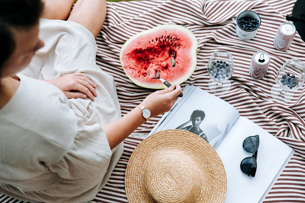 Watermelon - Food that Help You Sleep Better
