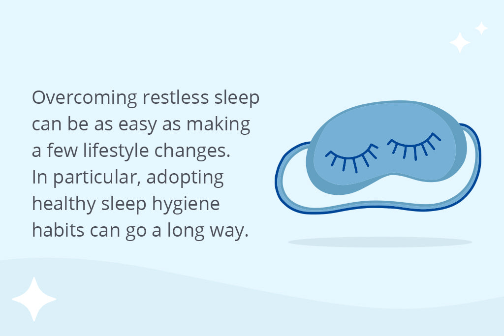 How To Overcome Restless Sleep Symptoms   Puffy