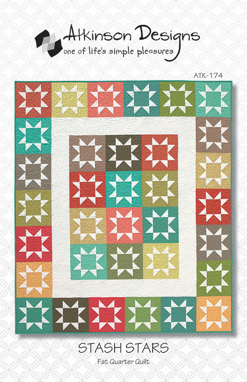 Stash Stars Quilt Pattern
