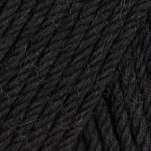 220 Superwash Wool in Black